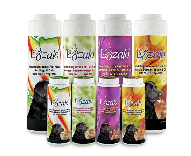 Lozalo Anti Tick & Flea Powder for Pets 150g