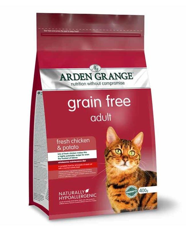 Arden Grange Grain Free Chicken and Potato Cat Food