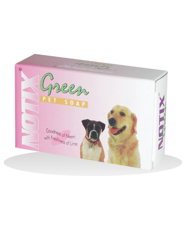 Petcare Notix Green Soap for Dogs - 75 gm