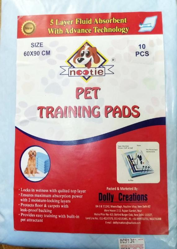 Nooti Pet Training Pads Large Size
