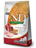Farmina N&D Low Ancestral Grain Chicken And Pomegranate Medium and Maxi Puppy Dog Food