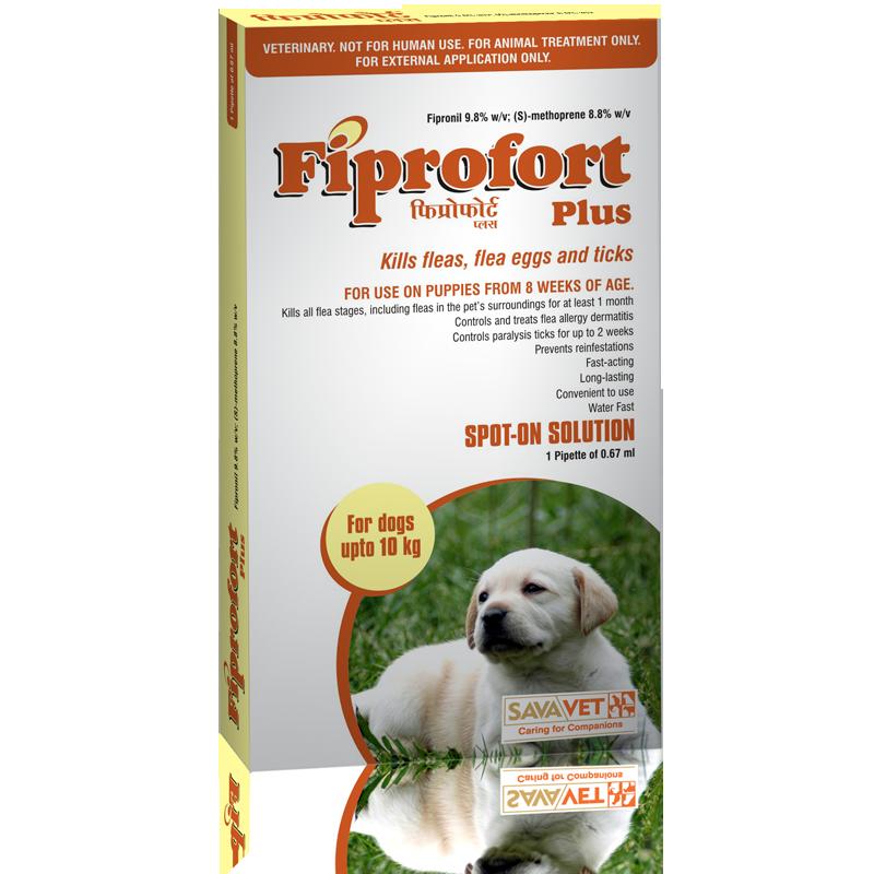 FIPROFORT PLUS SPOT-ON FOR DOGS (0-10KG) - OFYPETS