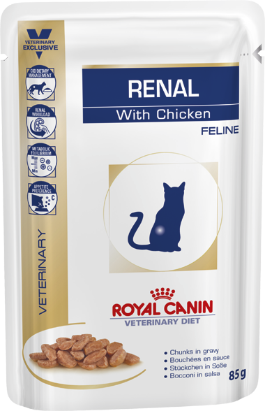 Royal Canin Renal Wet Cat Food Pouch