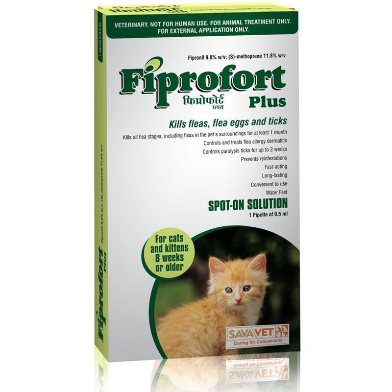 Savavet Fiprofort Plus Spot On for Cats