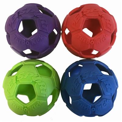 Petsport Turbo Kick Soccer Ball,4 inch