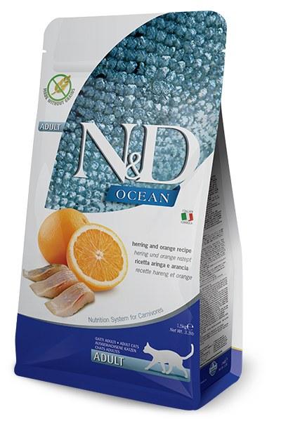 Farmina N&D Ocean Grain Free Herring And Orange Cat Food