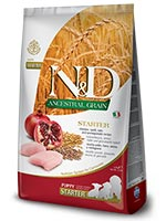 Farmina N&D Low Ancestral Grain Chicken And Pomegranate All Breeds Starter Puppy Dog Food