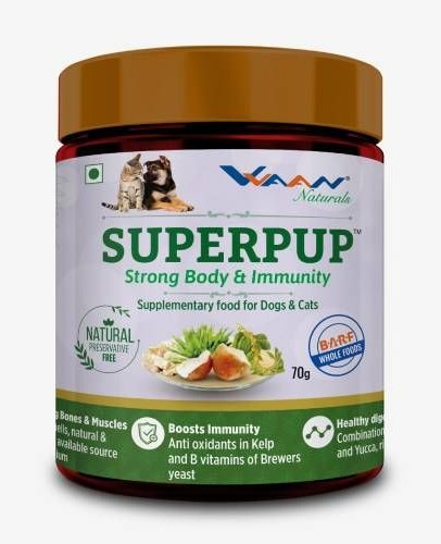 Vvaan Superpup Strong Body and Immunity Supplementary Food for Dogs and Cats