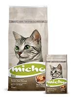 Micho Adult Cat Food, Chicken Flavor