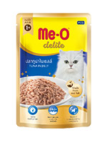 MeO Delite Wet Food Pouch, Tuna in Jelly