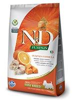 Farmina N&D Pumpkin Grain Free Codfish And Orange Mini Adult Dog Food