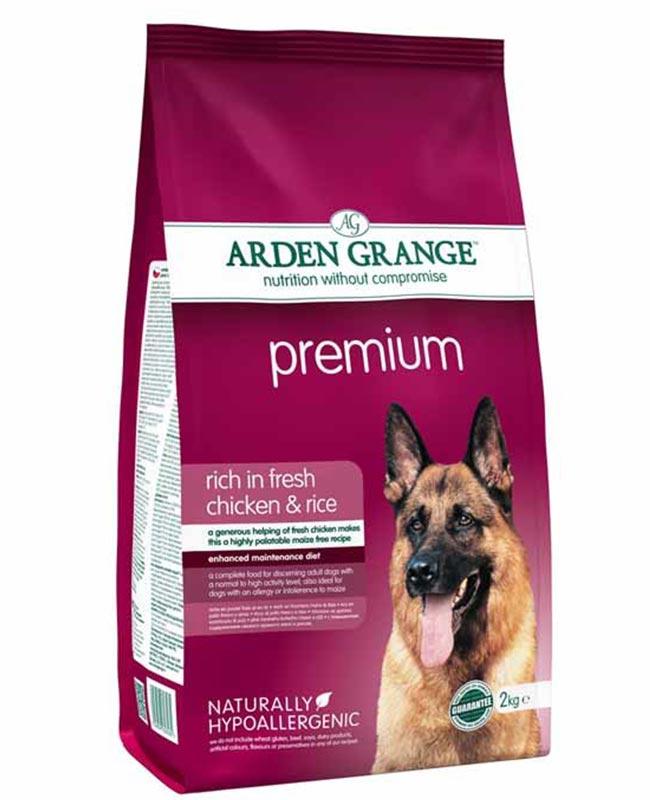 Arden Grange Premium Chicken And Rice Adult Dog Food
