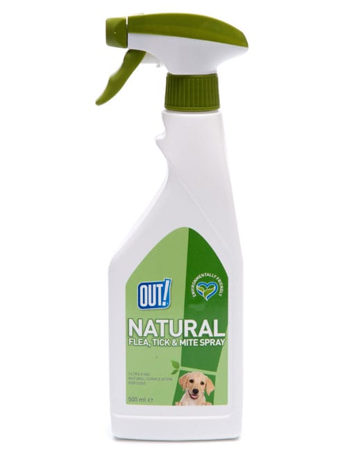 OUT Natural Flea and Tick Spray