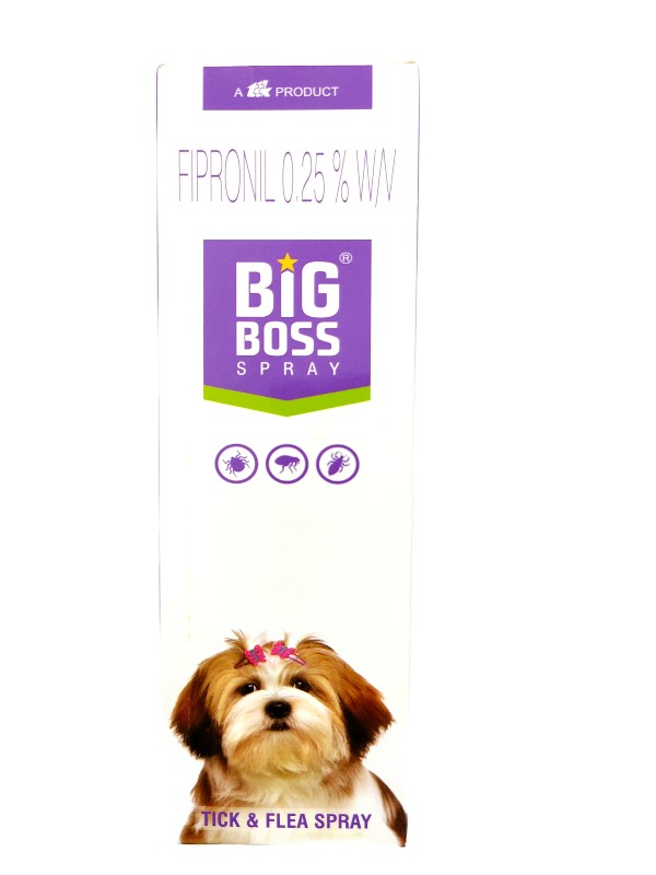 TTK Big Boss Anti Tick and Flea Spray for Dogs and Cats