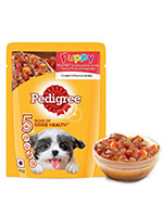 Pedigree Grilled Liver Chunks with Vegetables Puppy Gravy