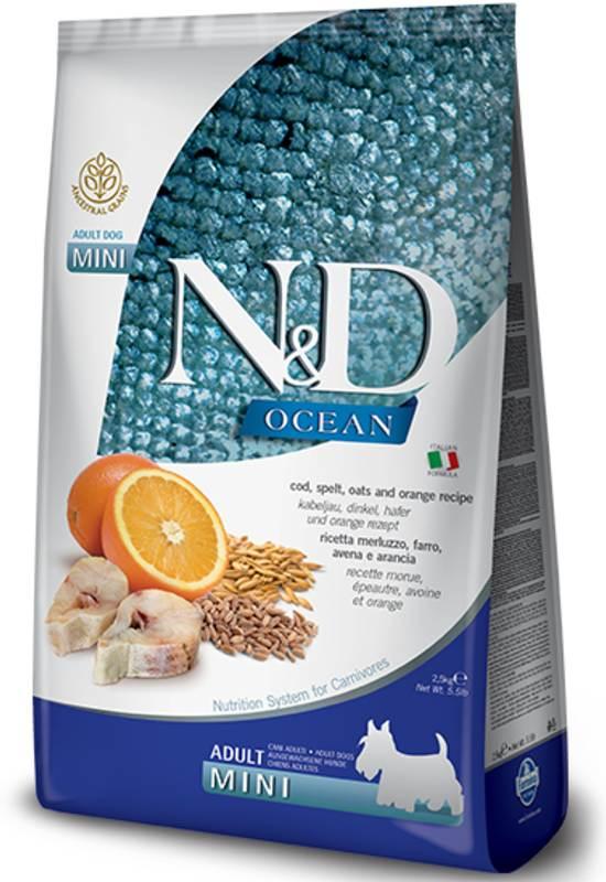 Farmina N&D Ocean Low Grain Cod, Spelt and Oats Mini Adult Dog Food
