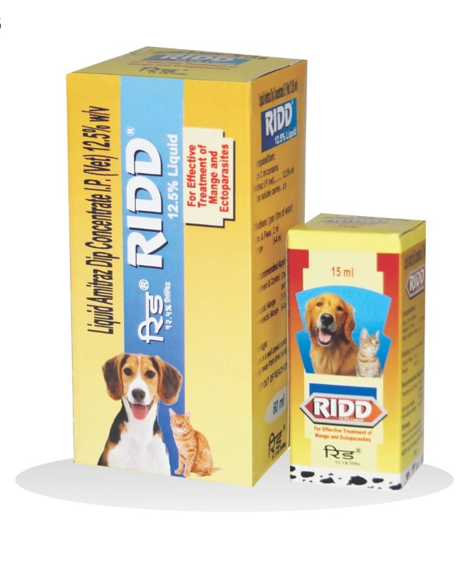 Petcare Ridd Anti Tick and Flea Solution for Dogs and Cats