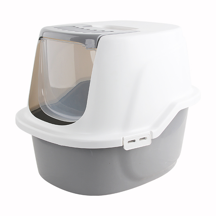 Pawise Hooded Kitty Litter Tray - Ofypets