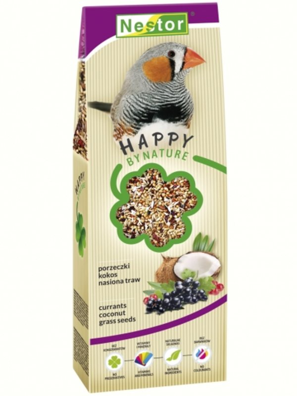 Nestor Premium Food For Finches With Currants, Coconut And Grass Seeds
