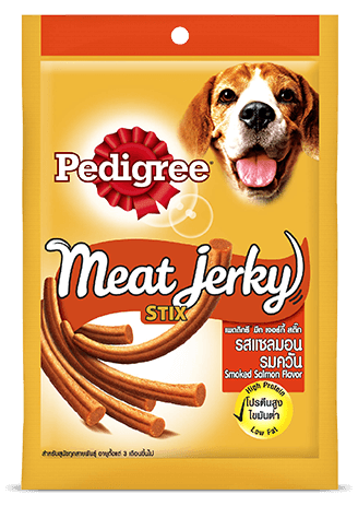 Pedigree Meat Jerky Stix, Smoked Salmon Flavor - 60g