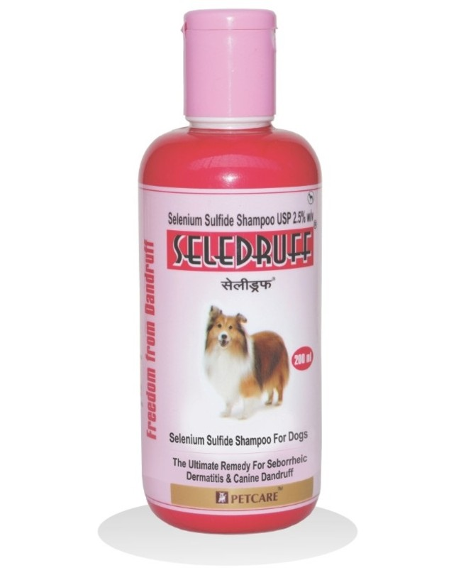 Petcare Seledruff Anti-Dandruff Shampoo for Dogs