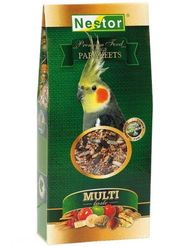 Nestor Multi-Taste Premium Food For Large Parakeets