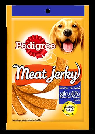 Pedigree Meat Jerky Treats, Barbecued Chicken Flavor - 80g