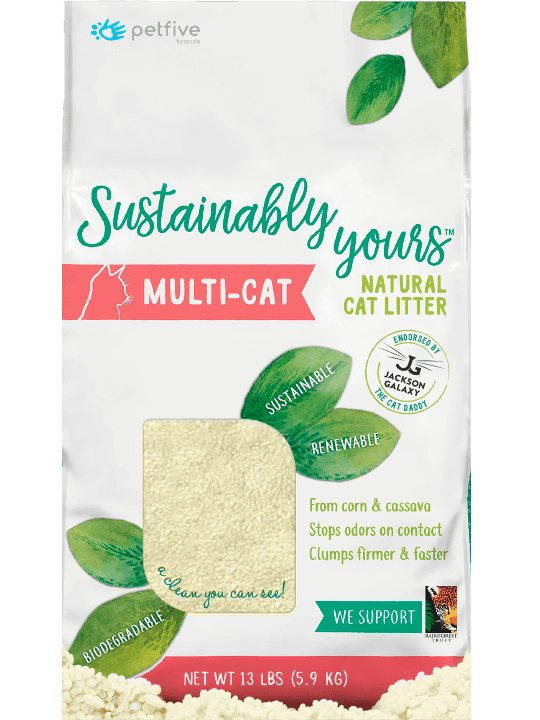 Sustainably Yours Multi-Cat Natural Cat Litter