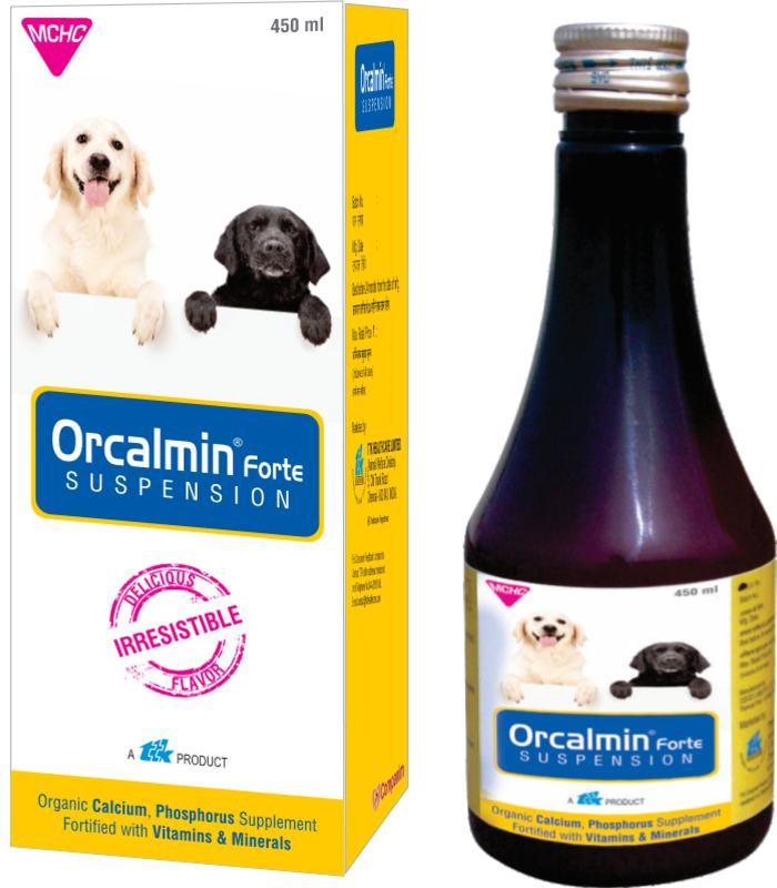 TTK Orcalmin Forte Suspension Organic Calcium Phosphorus Supplement for Dogs