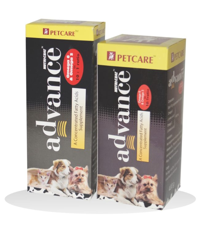 Petcare Nutricoat Advance with Omega 6 & 3 Fatty Acids for Dogs and Cats