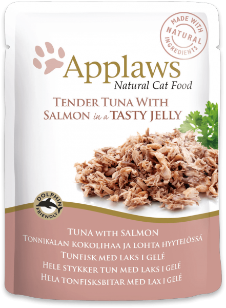 Applaws Tuna with Salmon in Jelly Cat Food Pouch - Ofypets