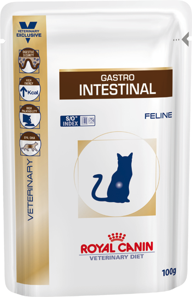 Royal Canin Gastro Intestinal Wet Cat Food Pouch - Ofypets