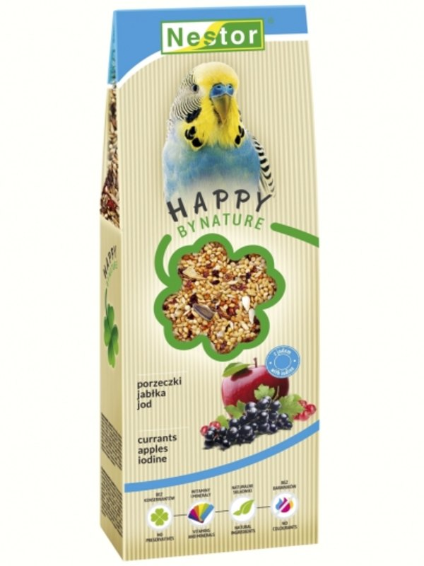 Nestor Premium Food For Parakeets With Currants, Apples And Iodine