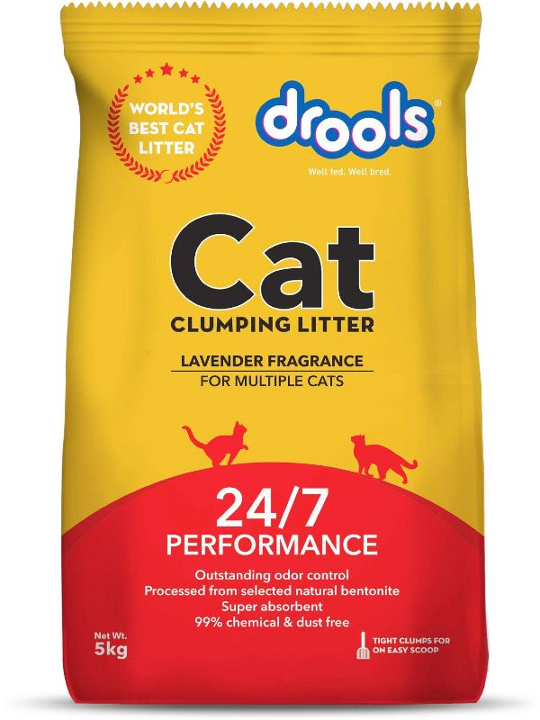 Drools Clumping Cat Litter Lavender Fragrance