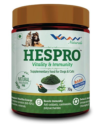 Vvaan Hespro Immunity and Vitality Supplementary Food for Dogs and Cats
