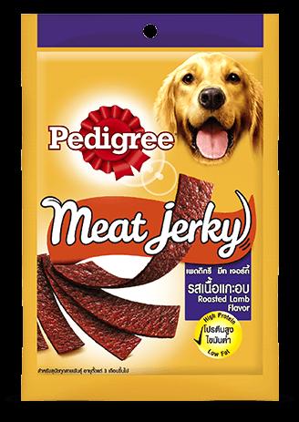 Pedigree Meat Jerky Treats, Roasted Lamb Flavor 80g - Ofypets