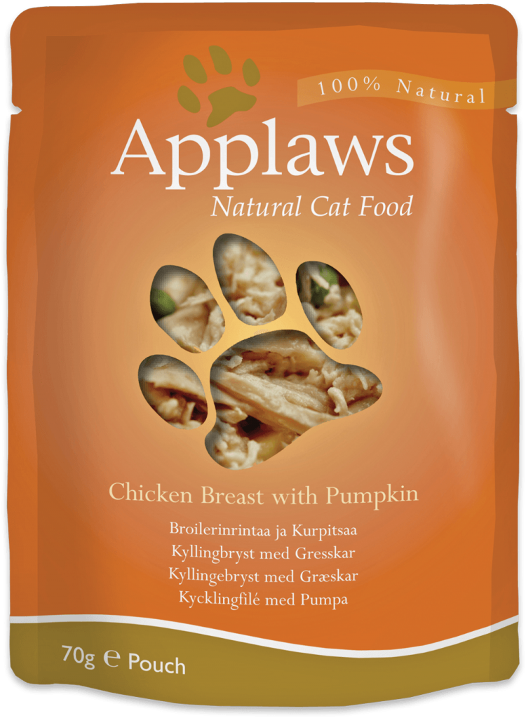 Applaws Chicken Breast with Pumpkin Cat Food Pouch
