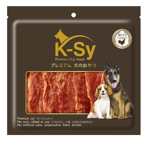 Jerhigh K-SY Premium Dog Snack,Chrispy Chicken Jerky - 200g