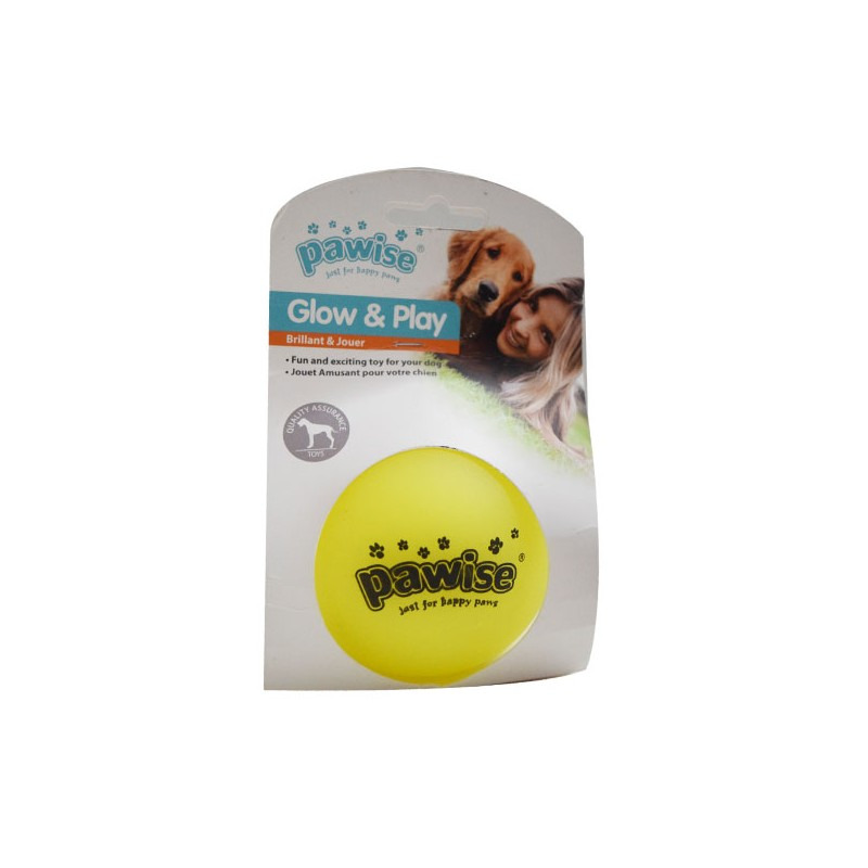 Pawise Glow and Play Ball for Pets - Ofypets