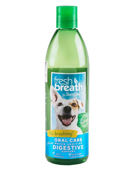 Tropiclean Fresh Breath Digestive Support Water Additive - Ofypets