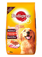 Pedigree Meat And Rice Adult Dog Food