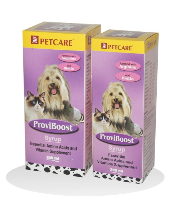 Petcare Proviboost Syrup Supplement For Dogs and Cats